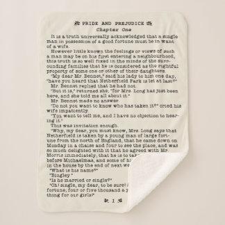 Manta Sherpa Orgullo de Jane Austen y cita de la literatura del