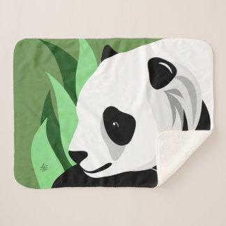 Manta Sherpa Regalos del amante de la panda gigante