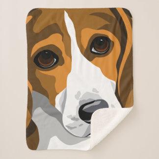 Manta Sherpa Regalos del amante del beagle