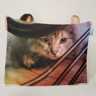 Manta siberiana del gato del gatito