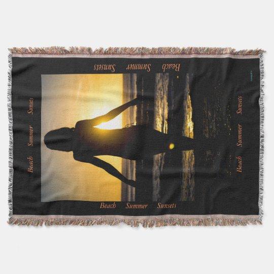 Manta Sombra de la puesta del sol de HAMbyWhiteGlove -