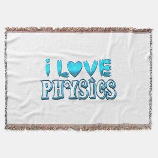 Manta Tejida Amo la física