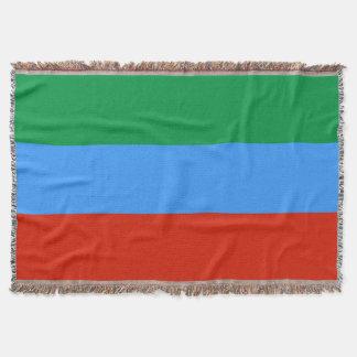 Manta Tejida Bandera de Daguestán
