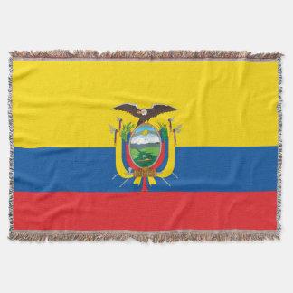 Manta Tejida Bandera de Ecuador