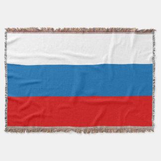 Manta Tejida Bandera de Rusia