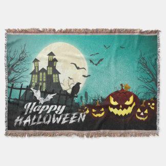 Manta Tejida Cielo nocturno fantasmagórico Halloween del traje