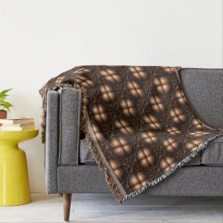 Manta Tejida Cubierta de cama