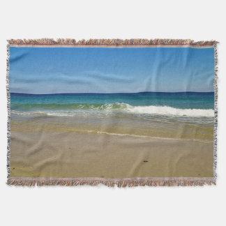 Manta Tejida Día de la playa en Cape Cod