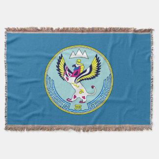 Manta Tejida Escudo de armas de Altai