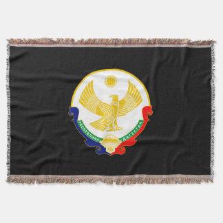 Manta Tejida Escudo de armas de Daguestán