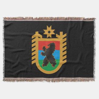 Manta Tejida Escudo de armas de Karelia