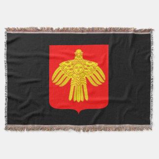 Manta Tejida Escudo de armas de Komi