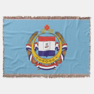 Manta Tejida Escudo de armas de Mordovia