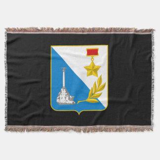 Manta Tejida Escudo de armas de Sevastopol