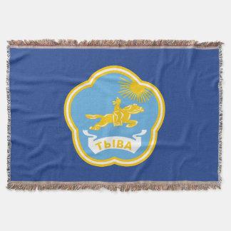 Manta Tejida Escudo de armas de Tuva