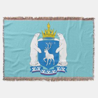 Manta Tejida Escudo de armas de Yamal-Nenetsia