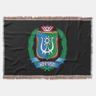 Manta Tejida Escudo de armas de Yugra