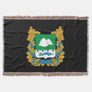 Manta Tejida Escudo de armas del oblast de Kurgan