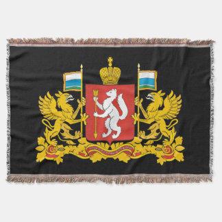 Manta Tejida Escudo de armas del oblast de Sverdlovsk