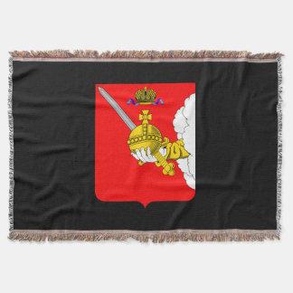 Manta Tejida Escudo de armas del oblast de Vologda