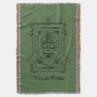 Manta Tejida Frida Kahlo el | Coyoacán