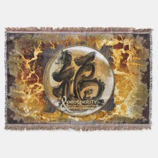 Manta Tejida LA CONEXIÓN DE LA PROSPERIDAD: Arte del Fengshui