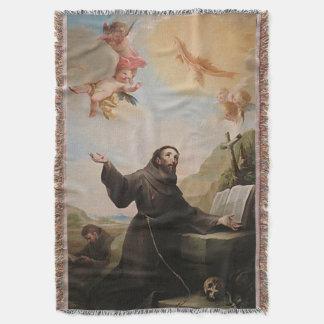 Manta Tejida St Francis de Assisi - San Francisco de Asis 24