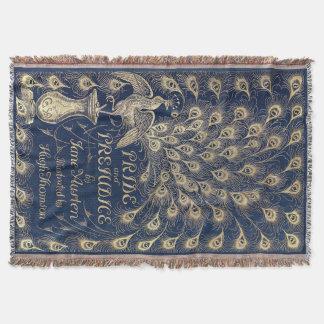 Manta Tejida Tiro tejido cubierta de la antigüedad del orgullo