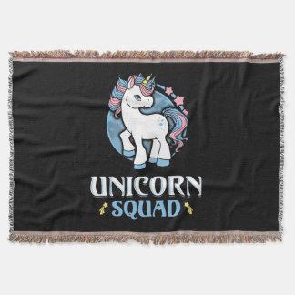 Manta Tejida Unicornio comando