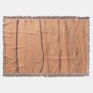 Manta Textura de madera