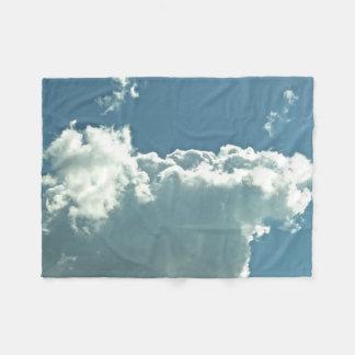Manta tranquila y nublada