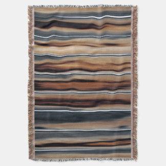 Manta Único fresco de la textura de madera