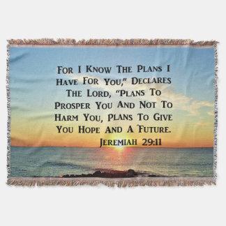 MANTA VERSO DIVINO DEL 20:11 DE JEREMIAH DE LA SALIDA
