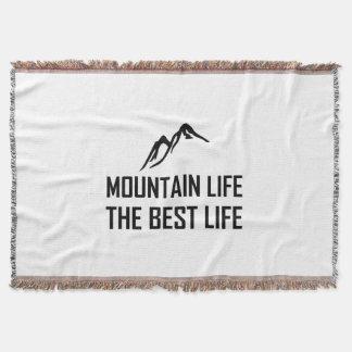 Manta Vida de la montaña la mejor vida
