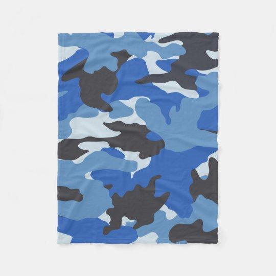 Mantas de encargo militares azules frescas del