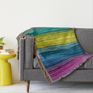 Mantas de madera coloridas del modelo