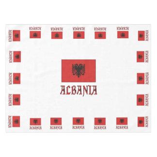 Mantel andWord de la bandera de Albania