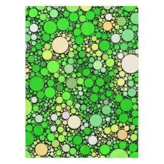 Mantel Burbujas de Zazzy, verdes