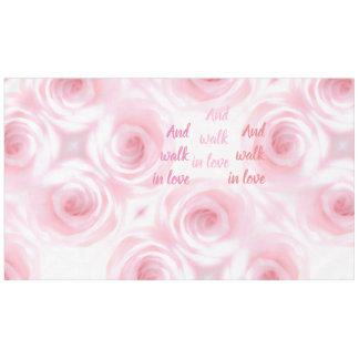 Mantel Capítulo 5 de Ephesians y paseo en amor