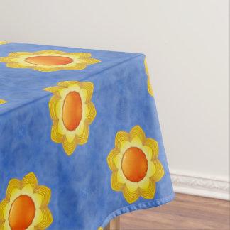 Mantel colorido del algodón del día soleado
