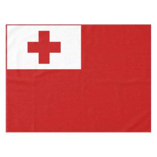 Mantel Cruz Roja de la bandera de la isla de Tonga