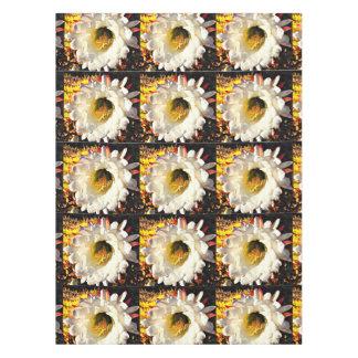 Mantel de encargo del algodón - flor del cactus