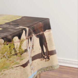 """Mantel de encargo """"vacas de Brown en cromo """""""