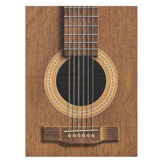 Mantel de madera caliente de la guitarra acústica