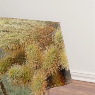 Mantel de salto del cactus para las tablas de cena