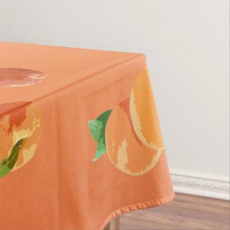 Mantel decorativo del modelo de la fruta del