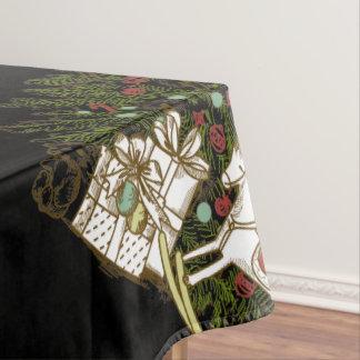 Mantel del árbol de navidad del vintage
