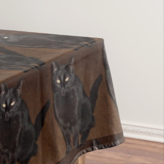 Mantel del CAT NEGRO de las BRUJAS de HALLOWEEN