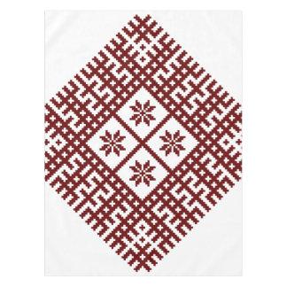 Mantel Diseño letón Auseklis del adorno del símbolo