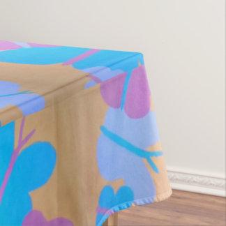 Mantel en colores pastel del modelo de mariposa de